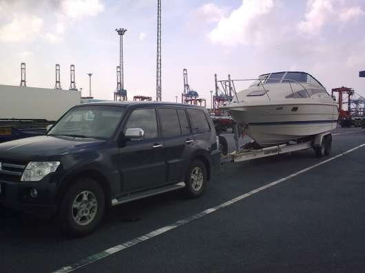 Транспортировка катеров, килевых яхт