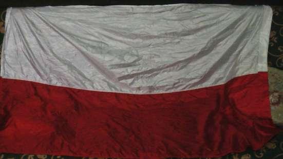 Флаги польские с гербом и без. новые