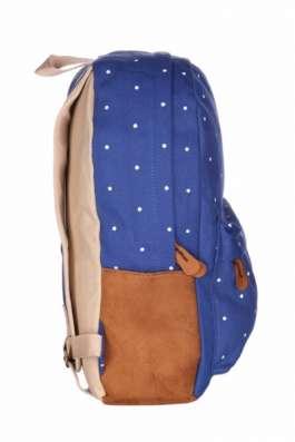Рюкзак городской Горошины синий голубой