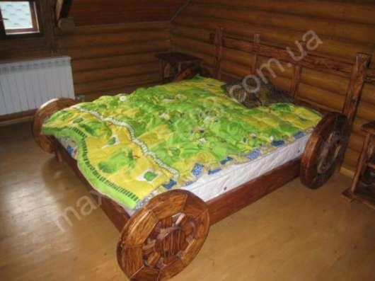 Кровати из дерева под старину в Екатеринбурге Фото 1