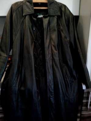 Мужской кожаный плащ в Саратове Фото 2