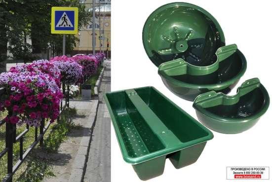 Оборудование для вертикального озеленения с накопителем жидк