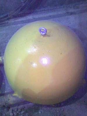 Парковочная полусфера малая в Тюмени Фото 1