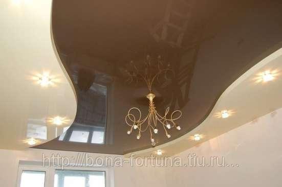 Натяжные потолки в Красноярске Фото 1