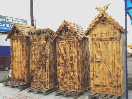 Хоз блоки, туалеты