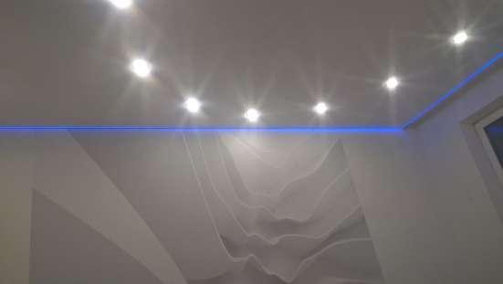 Натяжные потолки Стеновые панели Освещение Фотообои