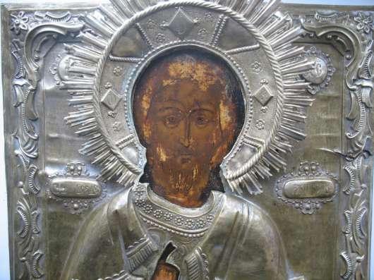 Продам икону Спас. Киот в Москве Фото 5