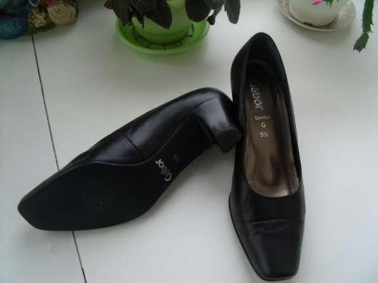 Замечательные туфли Gabor р.38.5 - 39, обмен в Санкт-Петербурге Фото 3