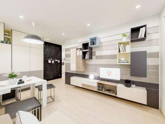1-комнатная квартира 18 кв. м в Жилом квартале Тетрис