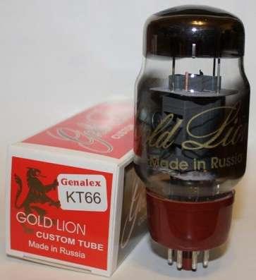 Радиолампа KT66 Genalex Gold Lion, подбор в пары