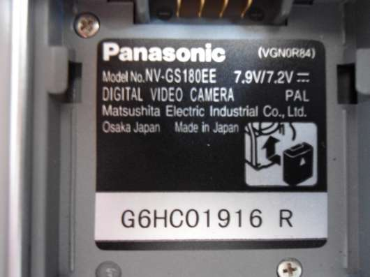 Продам видеокамеру Panasonic NV-GS 180 в Новосибирске Фото 2
