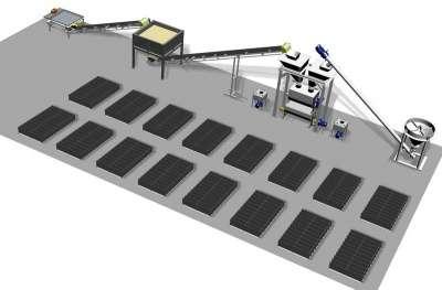 Автоматизированная линия по производству Робус