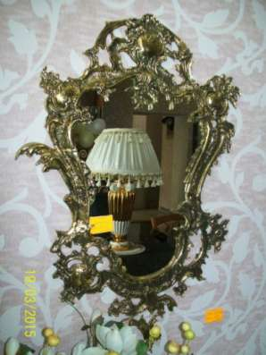 Консоль с зеркалом (бронза) Португалия Arcobronze арт.2331,1104