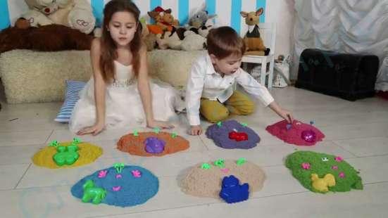 Космическая песочница для деток