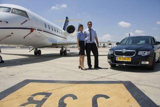 Вип встреча в Израиле - в аэропорту в Тель-Авива