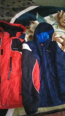 Зимняя и демисезонная куртки