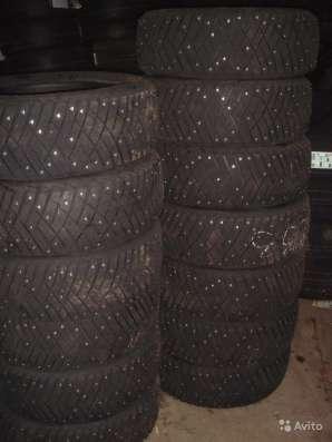 Новые немецкие шипы Dunlop 215 65 R16 ICE touch в Москве Фото 2
