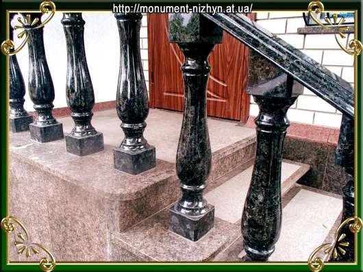 Памятники ритуальные, камины, балясины, ступени