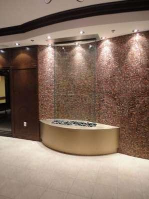 Водопады по стеклу — дарят новый оригинальный дизайнерский э