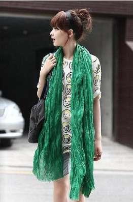 Зелёный шарф - жатка в Перми Фото 4