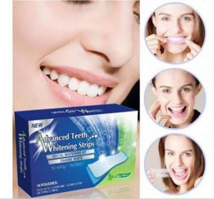 Полоски для отбеливания зубов новые с доставкой