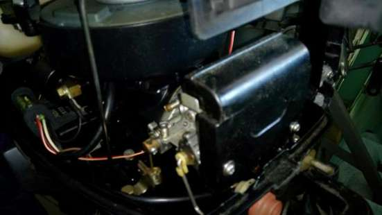 отличный лодочный мотор MERCURY 4, со встроенным баком,из Японии, нога S