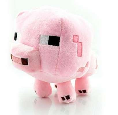 Мягкая игрушка Свинья (Майнкрафт)