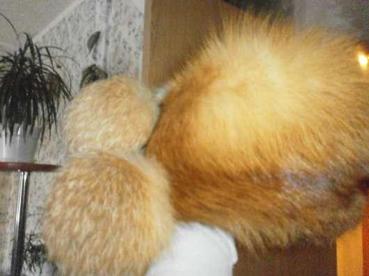 Шапка из лисы