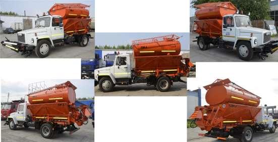Машина уборочная комбинированная КМД-3309