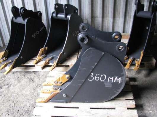 Узкий ковш для экскаватора погрузчика шириной 300, 400 мм