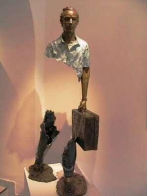 "скульптура креативная""Путешественн"