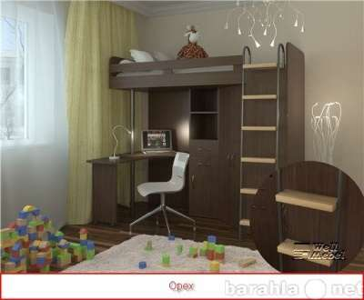 кровать чердак м 85 (Орбита1) в Москве Фото 2