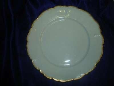старинная тарелка для второго,ЛИМОЖ,Фран