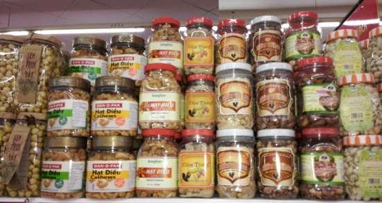 Орехи и семена из Вьетнама (кешью, арахис, кунжут, и др) в Москве Фото 5