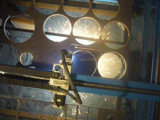 Воздушно плазменная резка с ЧПУ от производителей.