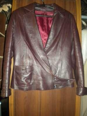 Куртка-кожа, с меховой подстёжкой в г. Донецк Фото 1