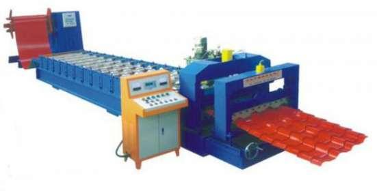 Оборудование для производства металочерепицы