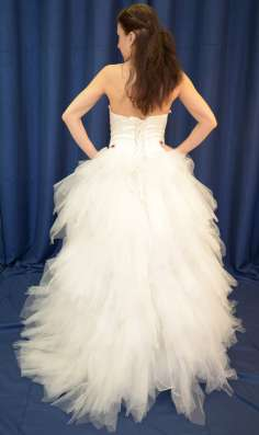 Озорное пышное свадебное платье в Москве Фото 1
