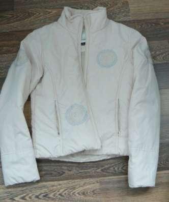 Куртка молочная р.42 на тонком синтепоне