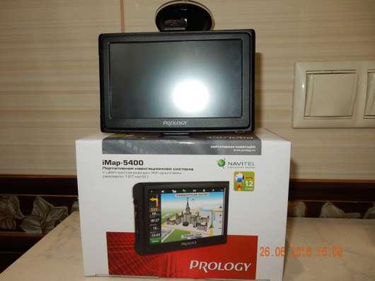 Автонавигатор PROLOGY iMap-5400, пр. новый