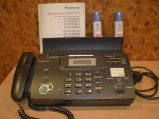 Телефон-факс Panasonic KX-FT938 с автоответчиком