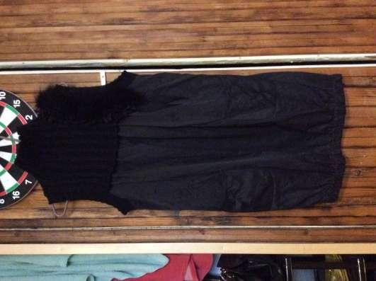 Платье - туника с мехом в Москве Фото 1