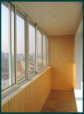 Красивый балкон, евро окно