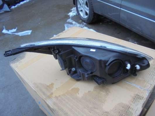 Фара для Форд Фокус 3(Ford fokus3)левая, хром
