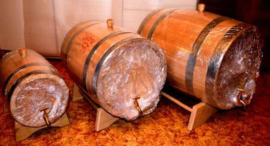 Деревянные бочки для солений и алкоголя купить