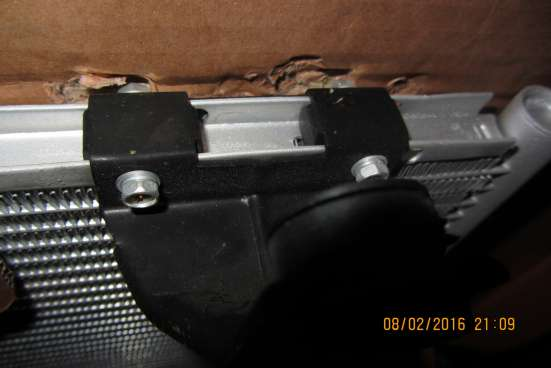 Радиатор кондиционера KIA Spectra \ Shuma \ Mentor