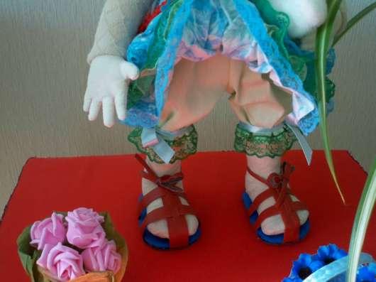 Текстильная интерьерная кукла Лизонька в Тольятти Фото 2