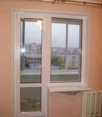 Балконные блоки ПВХ