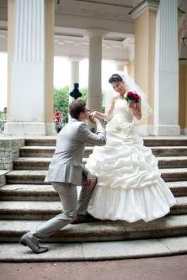 Шикарное Свадебное платье + фата в Санкт-Петербурге Фото 1