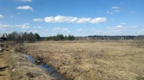 Продается земельный участок 12 соток (под ЛПХ) в деревне Сергово, Можайский р-он, 108 км от МКАД по Минскому шоссе.